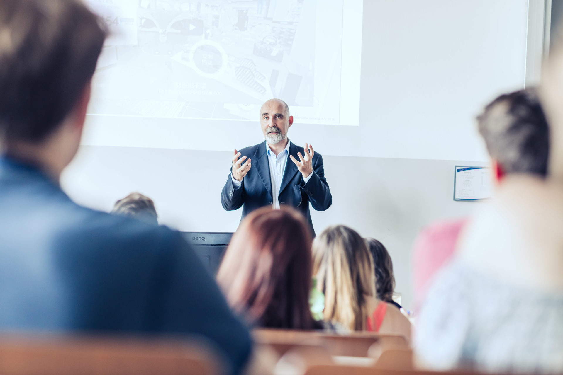 Lehrveranstaltung am IMC Campus Krems