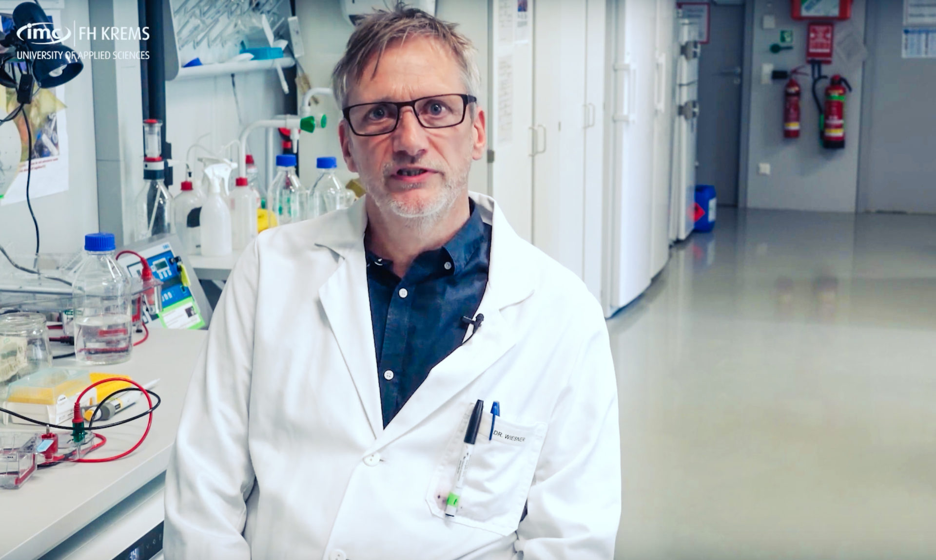 Forscher Christoph Wieser